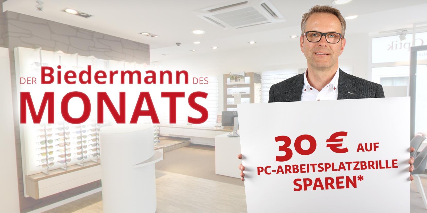 30 Euro auf PC Arbeitsbrillen sparen!