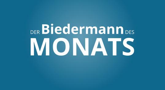 Biedermann des Monats